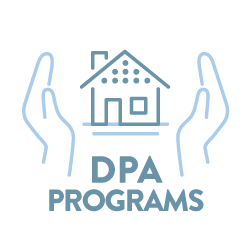 Down Payment Assistance Program Icon - Home Loans | Bay Equity Home Loans